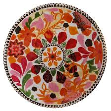melamine mosaic salad plates 8 5 set of 4 threshold target