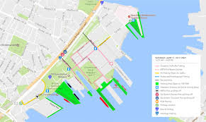 Boston Ferry Map by Sail Boston 2017 Boston Gov