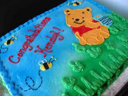 winnie the pooh baby shower sheet cake oh baby shower cakes winnie