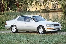 lexus ls400 1990 1990 94 lexus ls 400 consumer guide auto