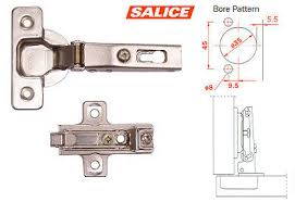 kitchen cabinet door hinge template salice concealed hinge and plate 120 box const overlay on