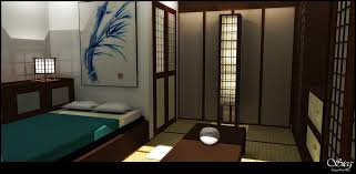 japanese bedroom by seclo rum on deviantart