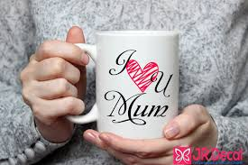 i love you mum printed ceramic mug mothers day mug mum christmas