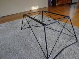 Coffee Table Bases Mid Century Cats Cradle Coffee Table Base Steel Base Only