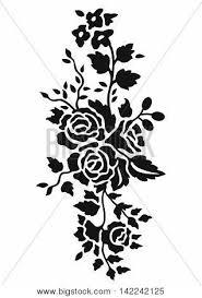 Black Rose Flower Black Rose Pattern Black Rose Vector U0026 Photo Bigstock