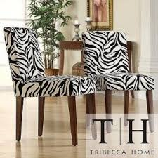 zebra living room set animal print dining room chairs foter