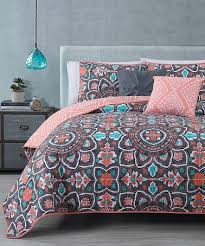 Grey And Teal Bedding Sets Best 25 Coral Bedspread Ideas On Pinterest Teen Bed Spreads