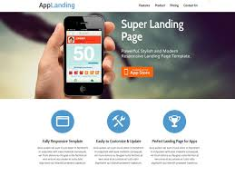 25 free landing page html templates templatemag
