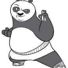 po kung fu panda coloring pages hellokids