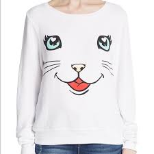 10 off wildfox sweaters sold nwt wildfox happy cat