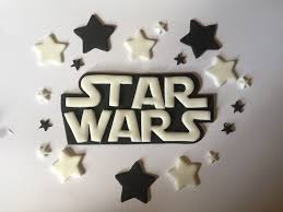 wars edible image edible wars logo cake topper with black white