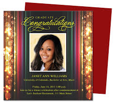 stage graduation announcements templates use with word