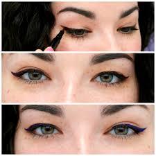 eyeliner tattoo images offer tattooed eyes set from skone cosmetics ipsy
