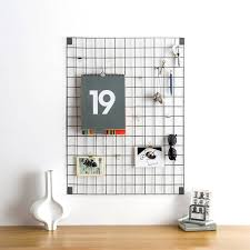 Kitchen Message Board Ideas Grey Wire Mesh Memo Board Block Wall Wire Mesh And Display