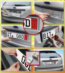 porta targa auto europlates portatarga per auto