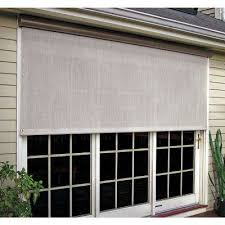 Exterior Patio Blinds Outdoor Shades Shades The Home Depot