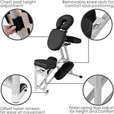 Wheels For Chair Legs Amazon Com Stronglite Ergo Pro Ii Portable Massage Chair Package