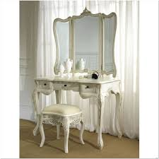 Mirrored Bed Bedroom Furniture Makeup Table Mirror Makeup Vanity Mirror White