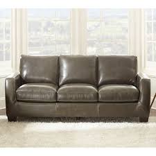 Gray Leather Sofa Leather Sofas Sectionals Costco