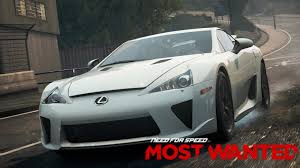lexus lfa android wallpaper need for speed most wanted 36 corridas com lexus lfa youtube