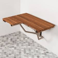 Teak Wood Shower Bench 30