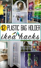 plastic bag holder ikea ikea plastic bag holder hacks and ideas the heathered nest