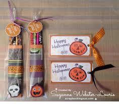 halloween bookmarks october 2015 scrapbooking sue