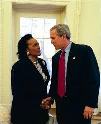 George Bush Cabinet File Scott King Et Bush Jpg Wikimedia Commons