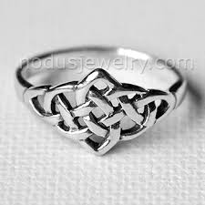celtic rings celtic ring celtic knot ring infinity knot ring silver