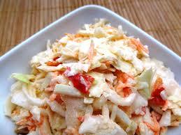 comment cuisiner du chou blanc salade de chou blanc coleslaw la tendresse en cuisine