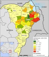 Ne Map Northeast Nigeria Maps And Mapping Data Fewsnet Food Security