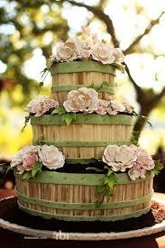 rustic flower basket wedding cake a wedding cake blog