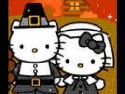 kitty thanksgiving slide show