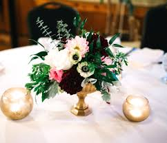 Mercury Glass Urn Vase Glass Gold Arrangement Weddings Centerpeices Floral