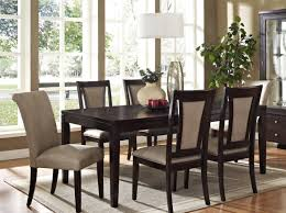 furniture luxurious dining room with neutral color scheme and