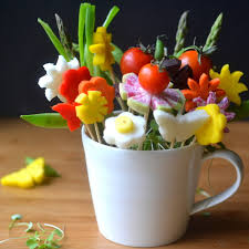 fruit flower arrangements how to make edible bouquets the view from great island