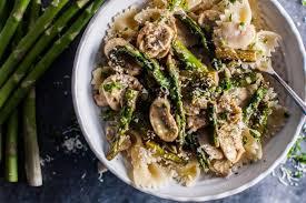 Asparagus Dishes Main Course - asparagus and mushroom pasta u2022 salt u0026 lavender