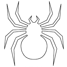 spider coloring page images spider picture to color children