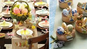Easter Baskets Decorating Ideas by Table Decorations Easter U2013 33 Creative Easter Table Decorations