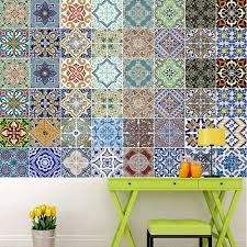 Wall Decals Patterns Color The by Aliexpress Com Buy Yazi Morocco Style Waterproof Fireproof Self
