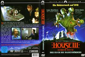 house iii horror house dvd cover 1989 r2 german