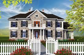 colonial style house colonial style house plan 4 beds 3 50 baths 3622 sq ft plan 70 1144