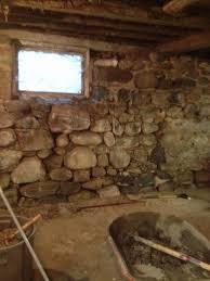 Parge Basement Walls by Michigan Stone Mason Stone Foundation Repair Stone Basement