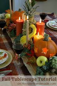 fall tablescape tutorial creating a beautiful table centerpiece