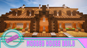 build a house minecraft how to build a house roof design studtech ep 9