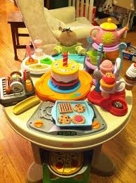 fisher price servin u0027 surprises kitchen and table joy in a minivan