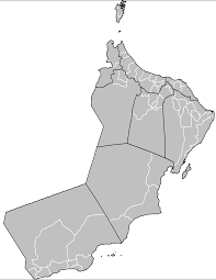 map of oman file oman districts png wikimedia commons