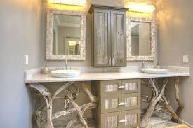 best rustic bathroom vanities ideas on woodrustic vanity mirror to