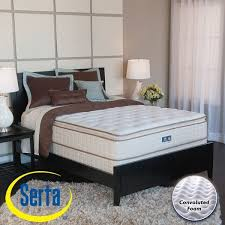 serta bristol way pillow top full size mattress and box spring set
