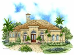 Mediterranean House Plans by Home 1 Story 3 Luxury Mediterranean House Plans One Story